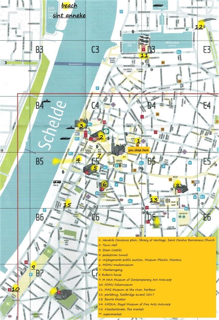 map Antwerpen